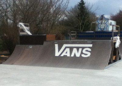 Vans Skatepark Branding