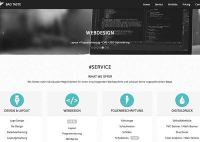 Projektarbeit Coding HTML5 + CSS3