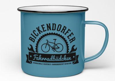 Logo Design & Textildruck Bickendorfer Fahrradbüdchen