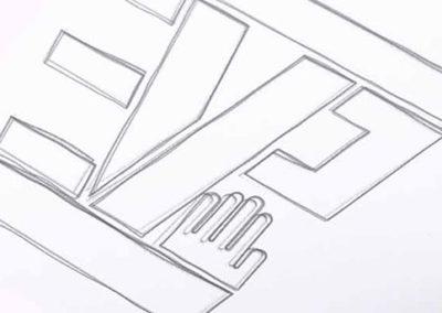 EVP Logo Entwurf Logo Design