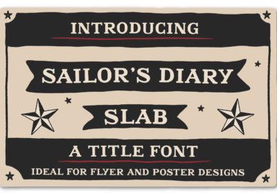 Sailor´s Diary Title Slab