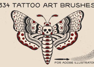 Tattoo Art Brushes AI