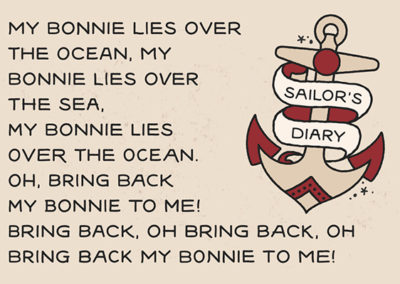 Sailors Diary Tattoo Style Font - Handpicked by Creative Market Staff